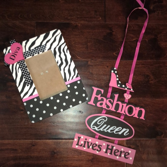 Other Diva Picture Frame Fashion Queen Poshmark